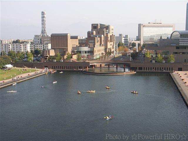 富岩運河 環水公園 (2)