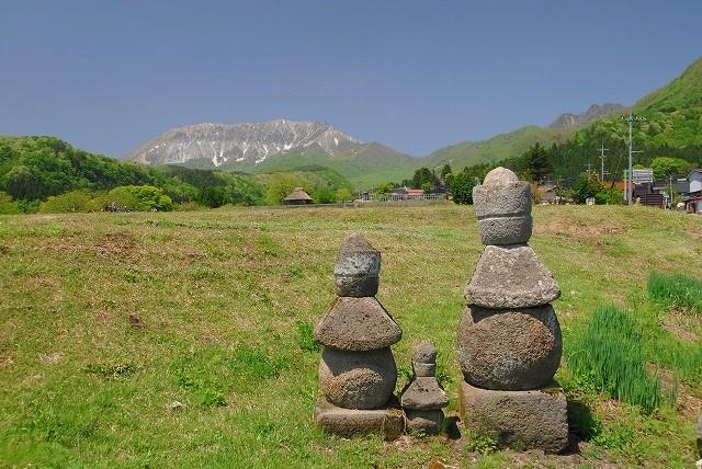 大山と花 (376)