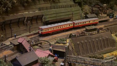 鉄道模型モジュール キハ52