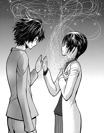 暗殺教室137話  「触手でお触り」がこんなロマンチックなシーンになるとは