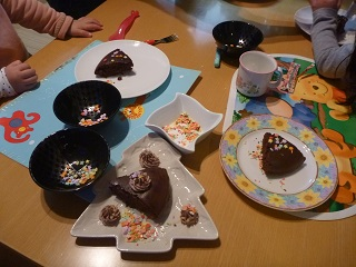 2014クリスマス手作りケーキ