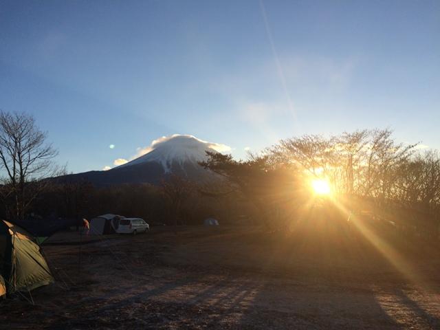 富士山初日の出①