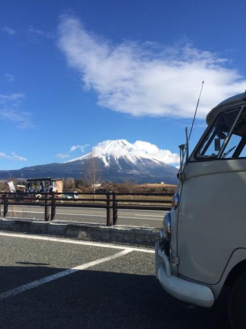 富士山初日の出②