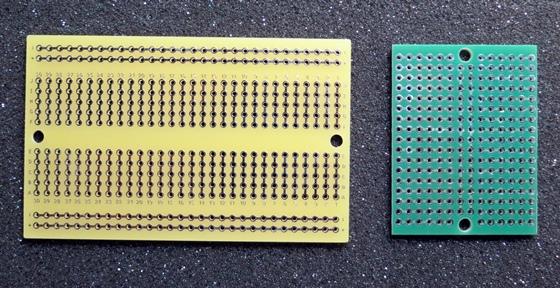 ブレッドボードパターン基板2種
