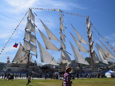 2015長崎帆船まつり