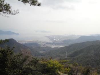 大鉢山展望