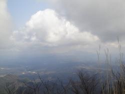 三瓶山展望