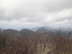 矢滝城山と日本海