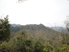 竜ヶ岳尖峰