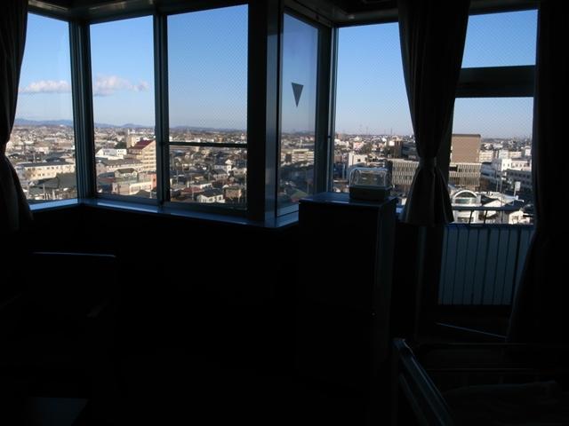 病室からの眺め・・・