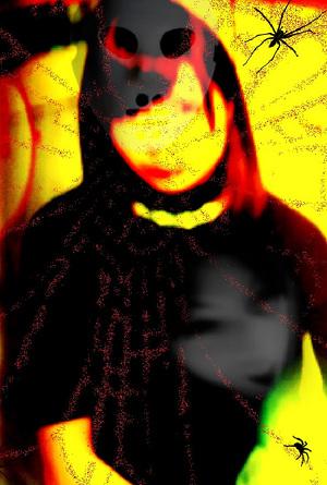 人物(女性)ホラー画像1 by占いとか魔術とか所蔵画像
