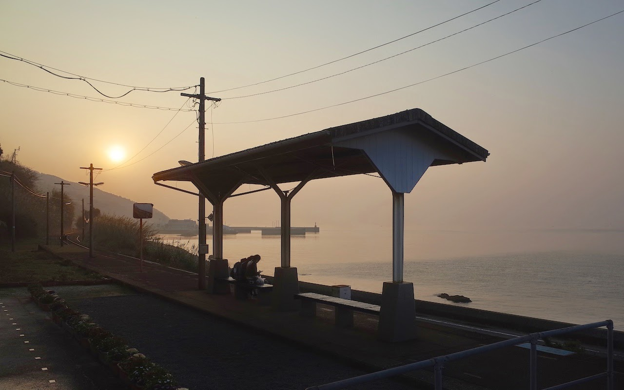Shimonada-Station-Sunset-Line 074