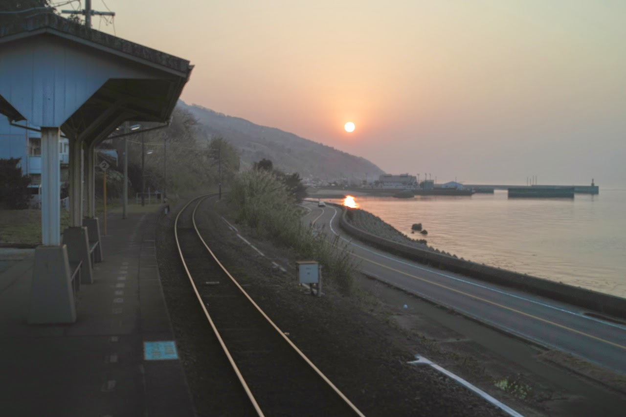 Shimonada-Station-Sunset-Line 075