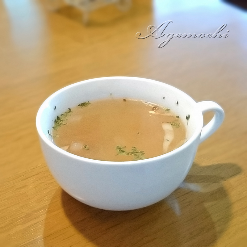 Aセットのスープ