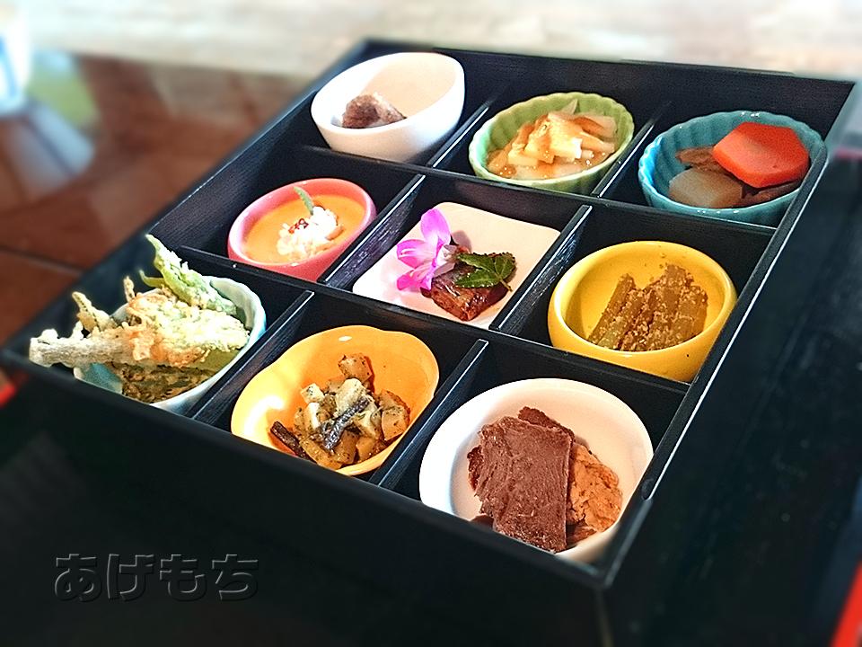 9品の小鉢料理