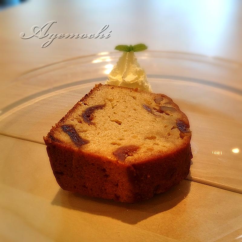 クルミとイチジクのパウンドケーキ