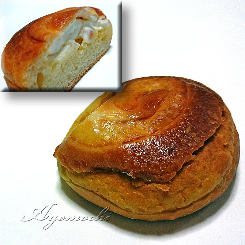 スイートポテトのシュークリームパン
