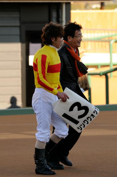 白井寿昭調教師