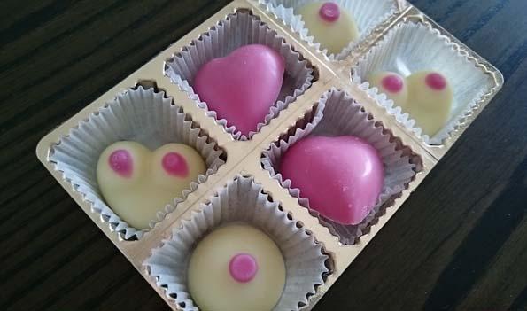 乳スタイルチョコレート