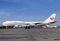 ボーイング747-300型機
