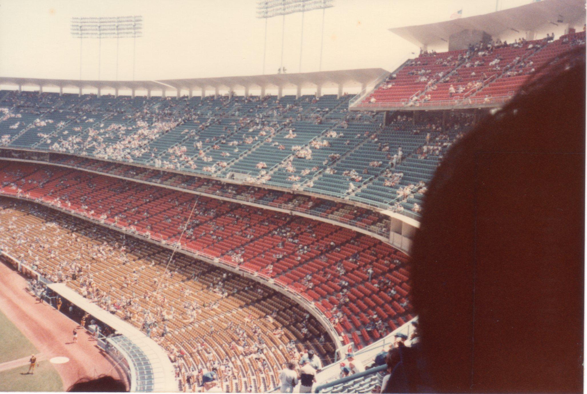 ドジャースタジアム 1982年9月5日538