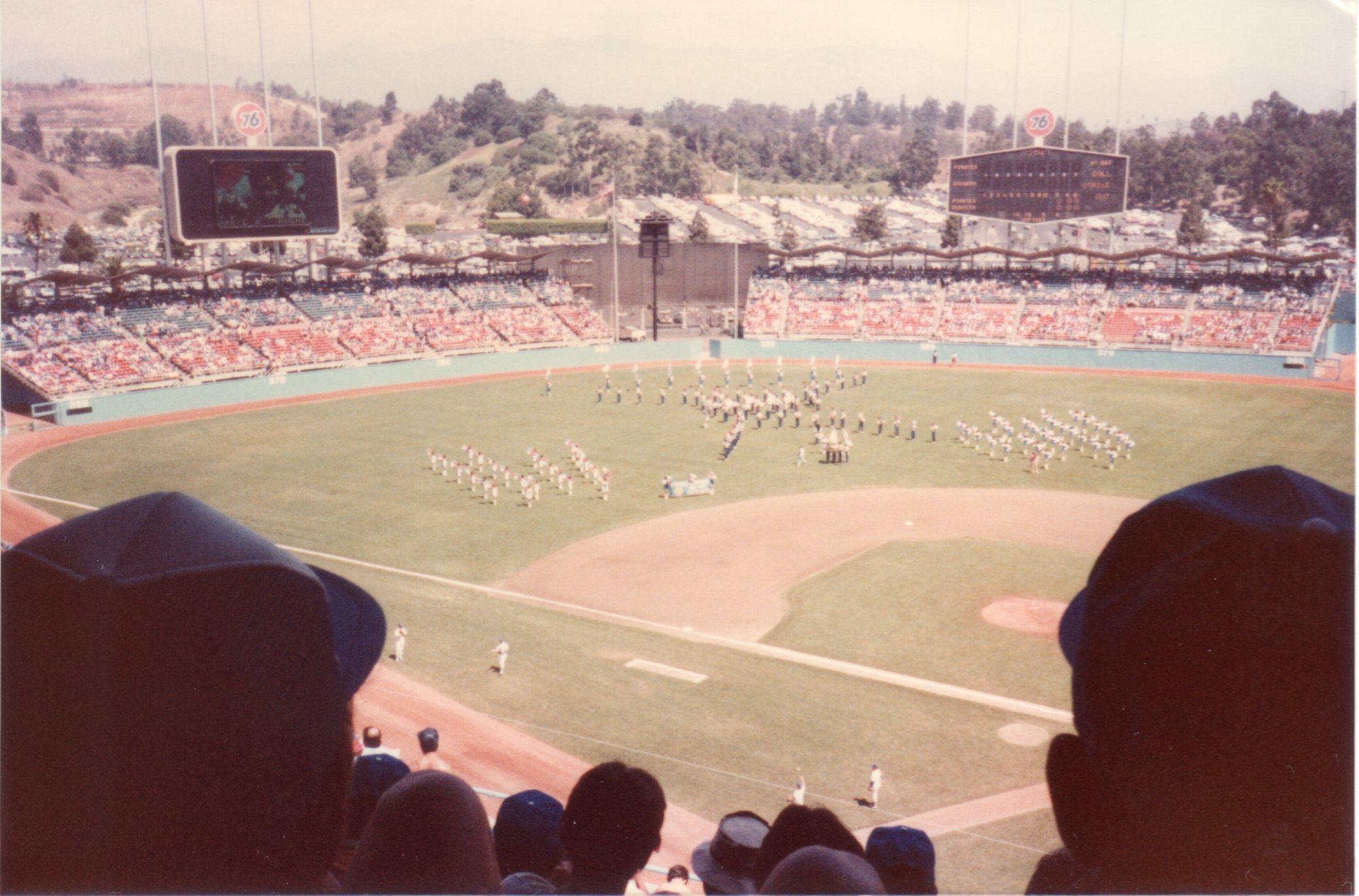 ドジャースタジアム 1982年9月5日539