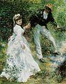 ポール・『散歩道(プロムナード)』(1870年)ルノワール