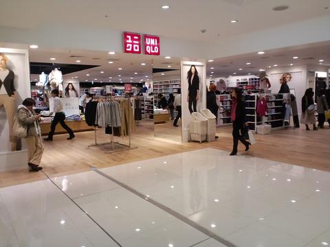 ユニクロ・梅田大丸店 (2)