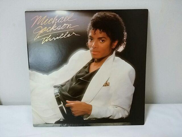 マイケル・ジャクソン レコードジャケット