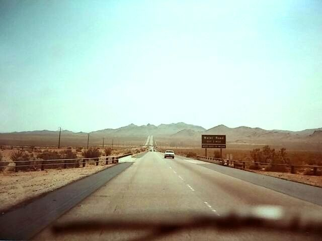 化石の森①アリゾナ・フリウェー