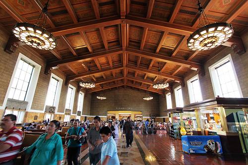 ユニオン駅 (ロサンゼルス)の中央ホール