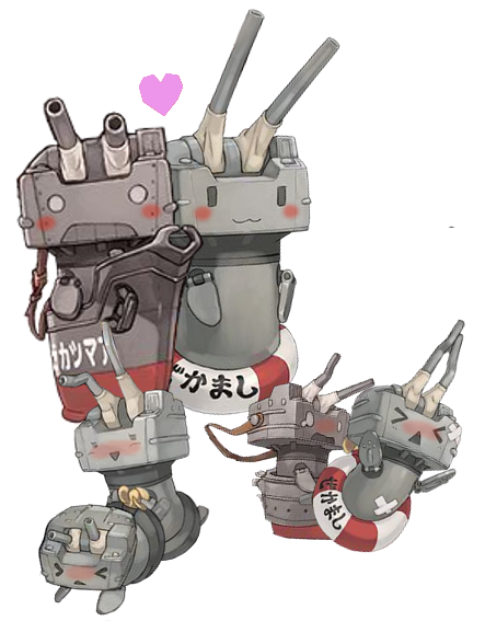 W連装砲(本物)