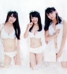 AKB48 小嶋真子 向井地美音 NMB48 白間美瑠 セクシー 下着のようなビキニ水着 おっぱいの谷間 太もも おへそ カメラ目線 高画質エロかわいい画像9073