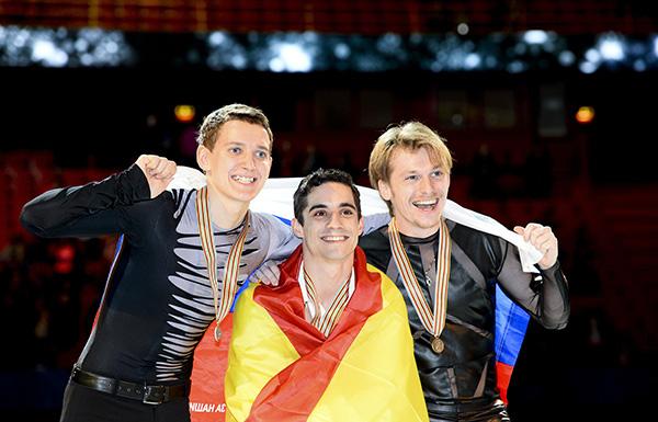 EC2015男子表彰台