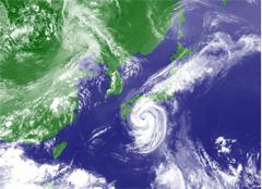 台風11号接近中