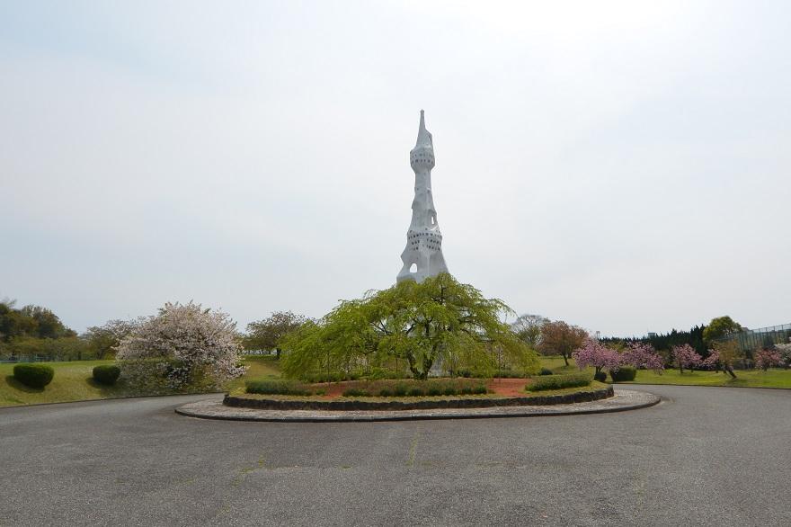 PLの塔の八重桜 (0)
