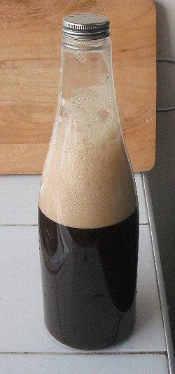 できあがり黒ビール