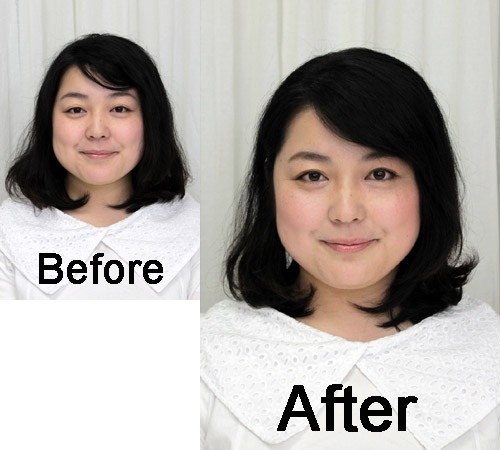 sayaka-before-after