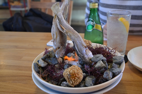 平塚 漁港の食堂