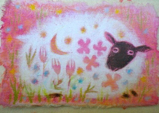 フラワー羊1