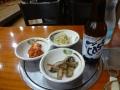 ビールと惣菜
