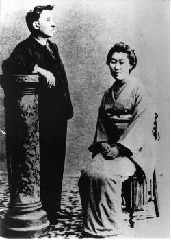 八雲と妻セツ