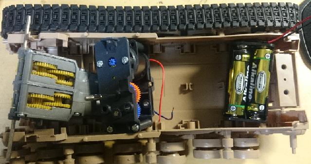 M61A5 仮配置