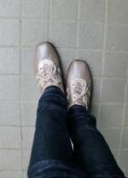 靴 インソール 履いて1