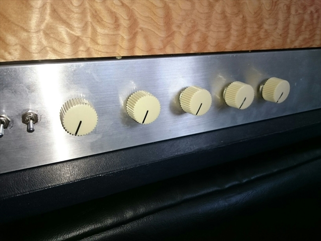DEN AMP #2のフロント・パネル