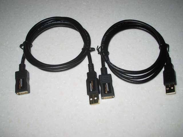 Xbox 360 コントローラー(ホワイト) 用 Amazonベーシック USB 2.0 延長ケーブル 1.0m (タイプAオス - タイプAメス) 開封