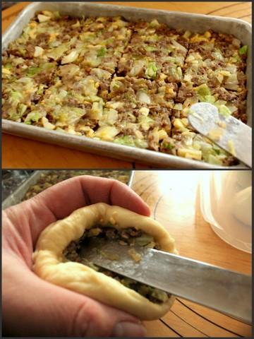 揚げパン2種_ピロシキ成形