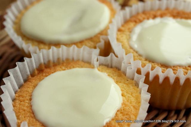 レモンとバニラの軽いケーキ_アップ