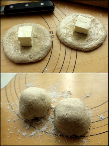 クリームチーズとペッパー風味のカンパーニュ5