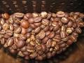 ジェネカフェの中のモカ・イルガチェフ焙煎豆
